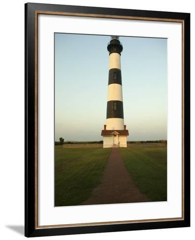 Bodie Island Lighthouse--Framed Art Print