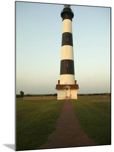 Bodie Island Lighthouse--Mounted Photographic Print