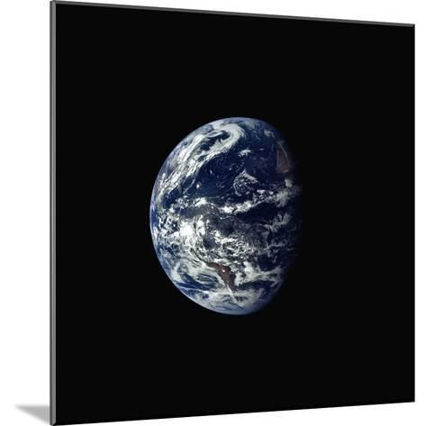 Earth Seen rrom Space--Mounted Photographic Print
