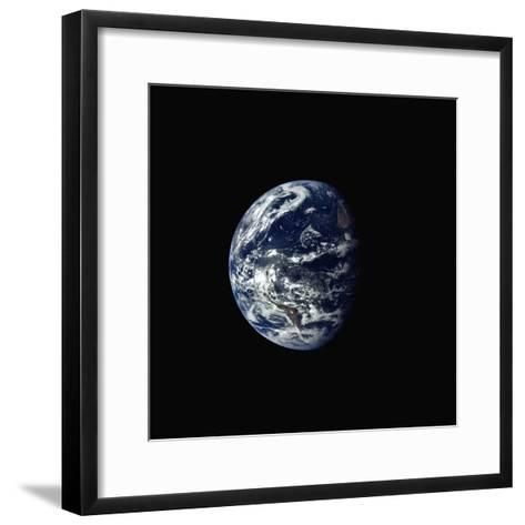 Earth Seen rrom Space--Framed Art Print