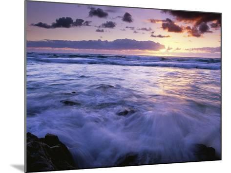 Fraser Island Coast at Sunrise-Theo Allofs-Mounted Photographic Print