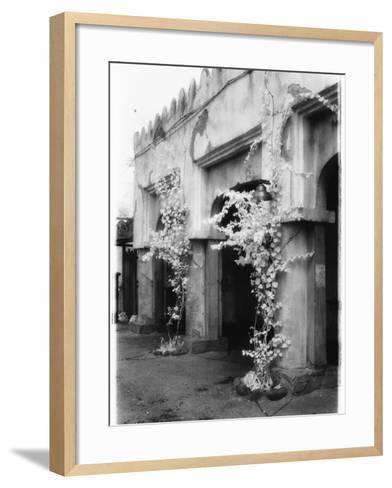 Stone Building-Kim M^ Koza-Framed Art Print
