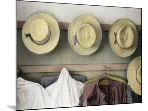 Amish Study No.18-Kim Koza-Mounted Photographic Print