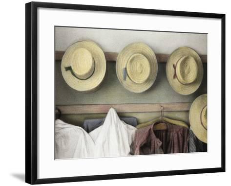 Amish Study No.18-Kim Koza-Framed Art Print