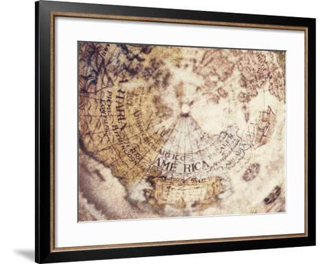 Globe-Jennifer Kennard-Framed Art Print