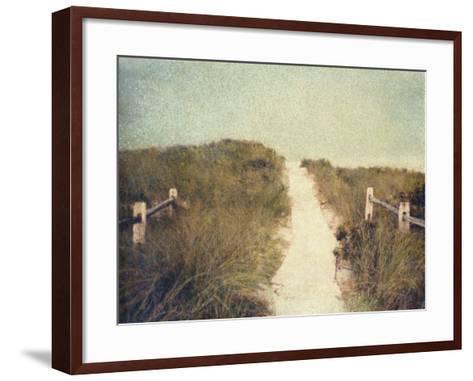 Beach Trail-Jennifer Kennard-Framed Art Print