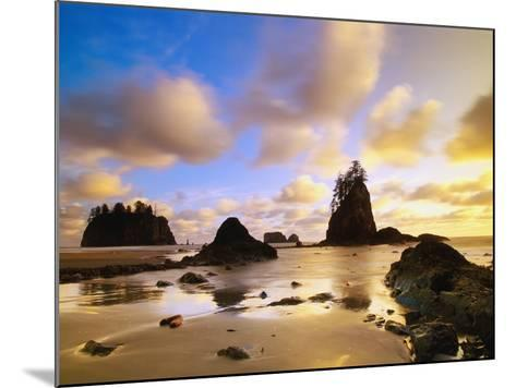 Sea Stacks Off Second Beach-Ron Watts-Mounted Photographic Print