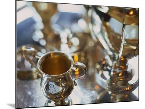 Silver Tea Service-Terry Vine-Mounted Photographic Print