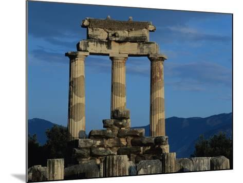 Temple of Tholos in the Sanctuary of Athena-Jim Zuckerman-Mounted Photographic Print