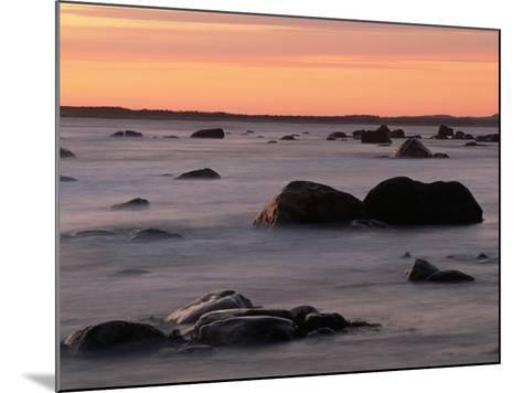 Erratics at Sunset-Raymond Gehman-Mounted Photographic Print