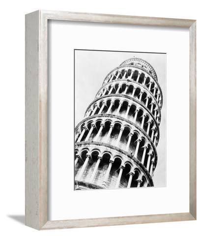 Leaning Tower of Pisa from Below-Bettmann-Framed Art Print