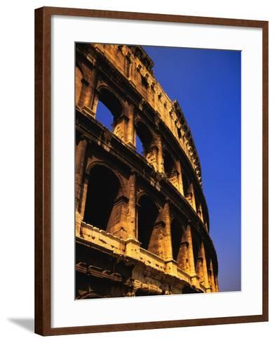 Close-Up View of the Colosseum-Bob Jacobson-Framed Art Print