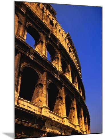 Close-Up View of the Colosseum-Bob Jacobson-Mounted Photographic Print