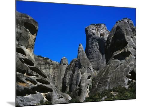 Rock Towers of Meteora-Perry Mastrovito-Mounted Photographic Print