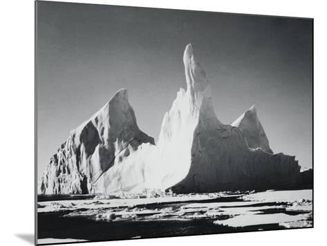 Iceberg Rising From Arctic Waters-Bettmann-Mounted Photographic Print