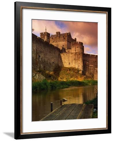 River Suir Around the Cahir Castle-Richard Cummins-Framed Art Print