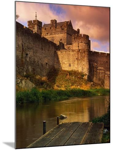 River Suir Around the Cahir Castle-Richard Cummins-Mounted Photographic Print