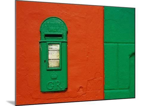 Bright Green Mail Slot-Richard Cummins-Mounted Photographic Print