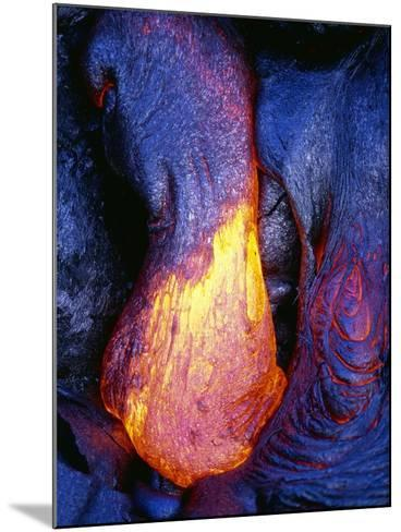 Lava Flowing from Kilauea-Paul Souders-Mounted Photographic Print