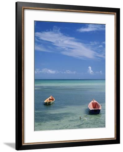 Rowboats in Shallow Water-Macduff Everton-Framed Art Print