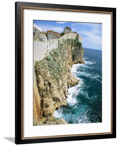 Walled Town of Dubrovnik on Dalmatian Coast-Macduff Everton-Framed Art Print