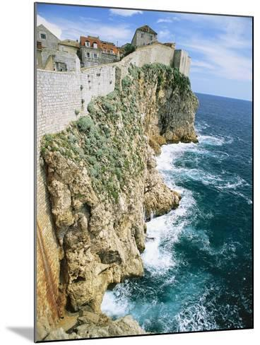 Walled Town of Dubrovnik on Dalmatian Coast-Macduff Everton-Mounted Photographic Print