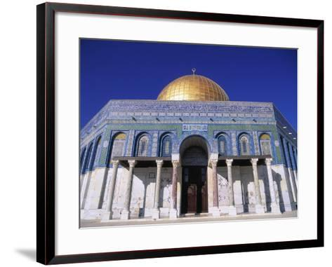 Exterior and Front View of Dome of the Rock-Jim Zuckerman-Framed Art Print