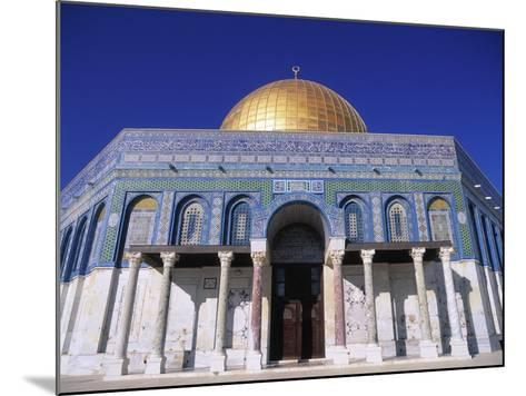 Exterior and Front View of Dome of the Rock-Jim Zuckerman-Mounted Photographic Print