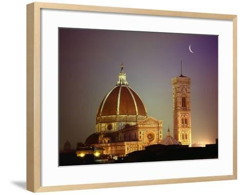 Duomo and Campanile of Santa Maria del Fiore Seen from the West-Jim Zuckerman-Framed Art Print