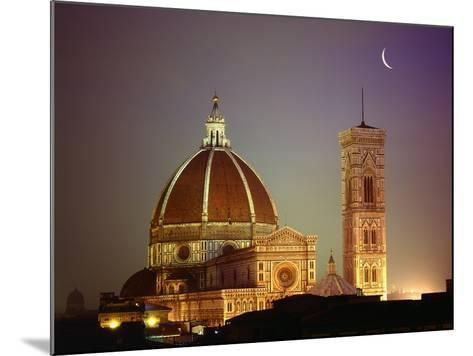 Duomo and Campanile of Santa Maria del Fiore Seen from the West-Jim Zuckerman-Mounted Photographic Print