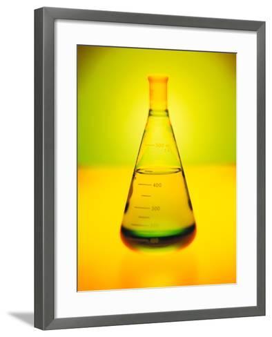 Chemistry Beaker-Thom Lang-Framed Art Print