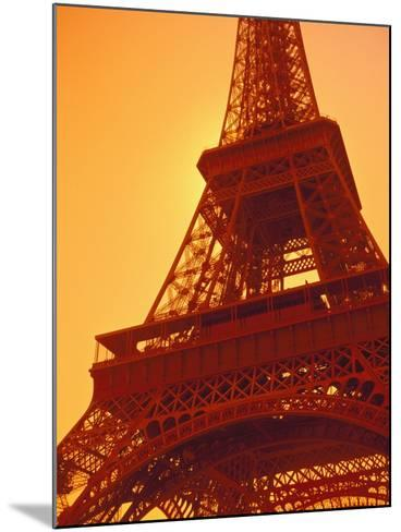 Eiffel Tower Against Sky-Lance Nelson-Mounted Photographic Print
