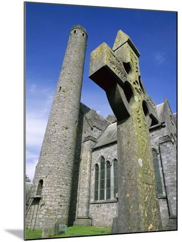 St. Canice's Cathedral and Round Tower-Richard Cummins-Mounted Photographic Print
