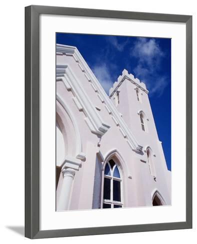 Salvation Church in St. George in Bermuda-Richard Cummins-Framed Art Print