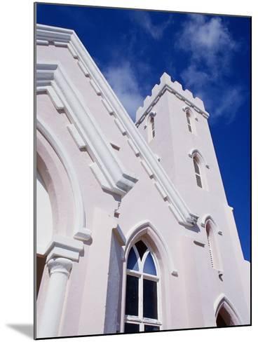 Salvation Church in St. George in Bermuda-Richard Cummins-Mounted Photographic Print