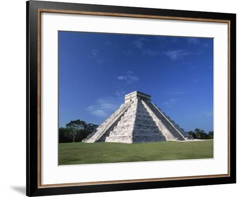 The Pyramid of Kukulkan-Danny Lehman-Framed Art Print