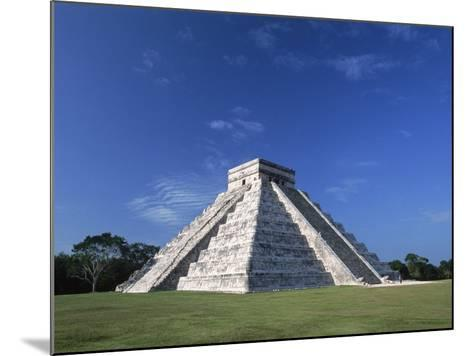 The Pyramid of Kukulkan-Danny Lehman-Mounted Photographic Print