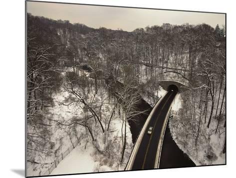 Highway Crossing a Creek-Richard Nowitz-Mounted Photographic Print