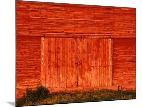 Detail of a Red Barn-Stuart Westmorland-Mounted Photographic Print