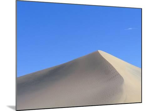 Sand Dune and Blue Sky-Paul Souders-Mounted Photographic Print