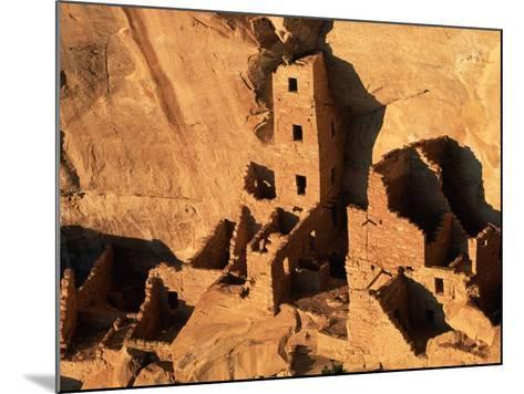 Four Story House in Cliff Palace-Joseph Sohm-Mounted Photographic Print