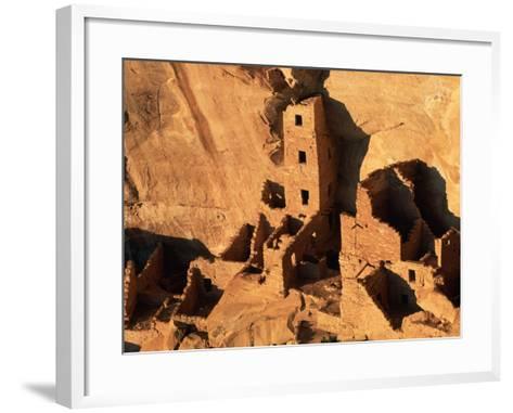 Four Story House in Cliff Palace-Joseph Sohm-Framed Art Print