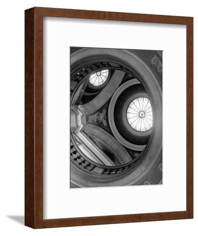 Interior of Essex County Courthouse Rotunda-Karen Tweedy-Holmes-Framed Art Print