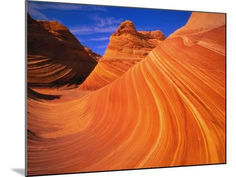 Coyote Butte's Sandstone Stripes-Joseph Sohm-Mounted Photographic Print