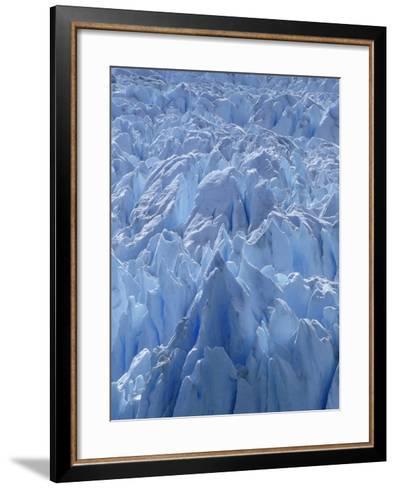 Close Up of Perito Moreno Glacier in Argentina-Joseph Sohm-Framed Art Print