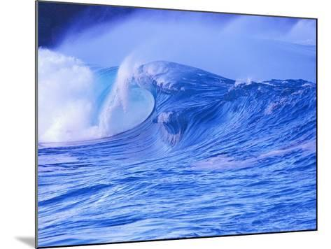 Breaking Wave-David Pu'u-Mounted Photographic Print