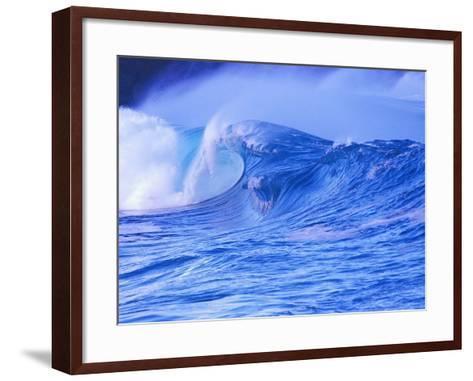 Breaking Wave-David Pu'u-Framed Art Print