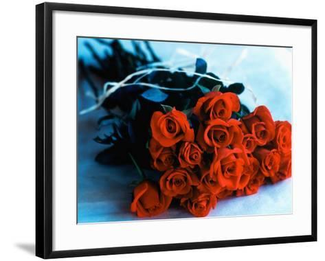 Bouquet of Roses-Colin Anderson-Framed Art Print