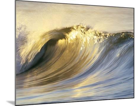 Ocean Wave Breaking-David Pu'u-Mounted Photographic Print