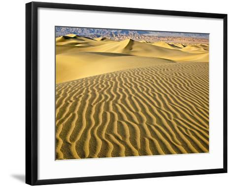 Sand Dunes-Owaki - Kulla-Framed Art Print